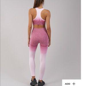 Ombré seamless leggings